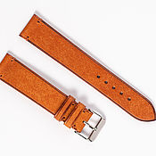 Украшения handmade. Livemaster - original item Red genuine leather strap in vintage style. Handmade.