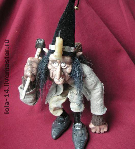 Сказочные персонажи ручной работы. Ярмарка Мастеров - ручная работа. Купить Старый гном. Handmade. Сувениры и подарки