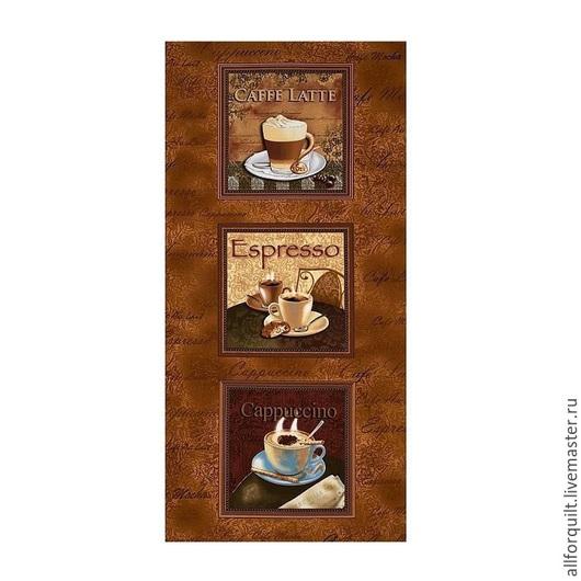 Шитье ручной работы. Ярмарка Мастеров - ручная работа. Купить Панель Каппучино,  60 х110 см. США. Handmade.