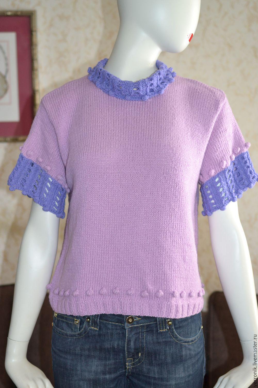 Купить пуловер вязаный