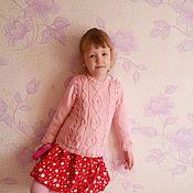 Работы для детей, ручной работы. Ярмарка Мастеров - ручная работа свитерок для девочки. Handmade.