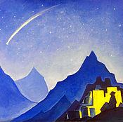 Картины и панно handmade. Livemaster - original item Free copy N. Roerich`s