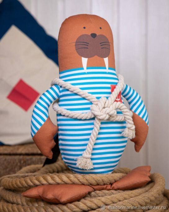 Walrus Boatswain Georges 41cm, Stuffed Toys, Moscow,  Фото №1