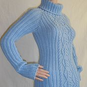 Одежда handmade. Livemaster - original item Sweater Nezabudkovy. Handmade.