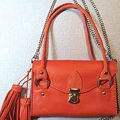 Рыжая сумочка