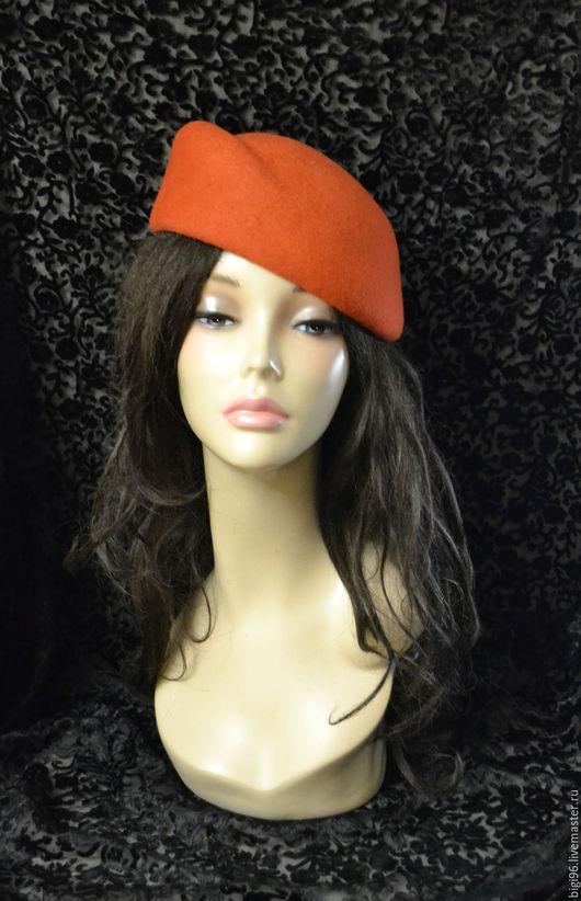 """Шляпы ручной работы. Ярмарка Мастеров - ручная работа. Купить """"Осень"""". Handmade. Рыжий, осень, шляпа"""