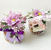 Подарки к праздникам ручной работы. Ярмарка Мастеров - ручная работа Сладкие подарочки Баночки с конфетами. Handmade.
