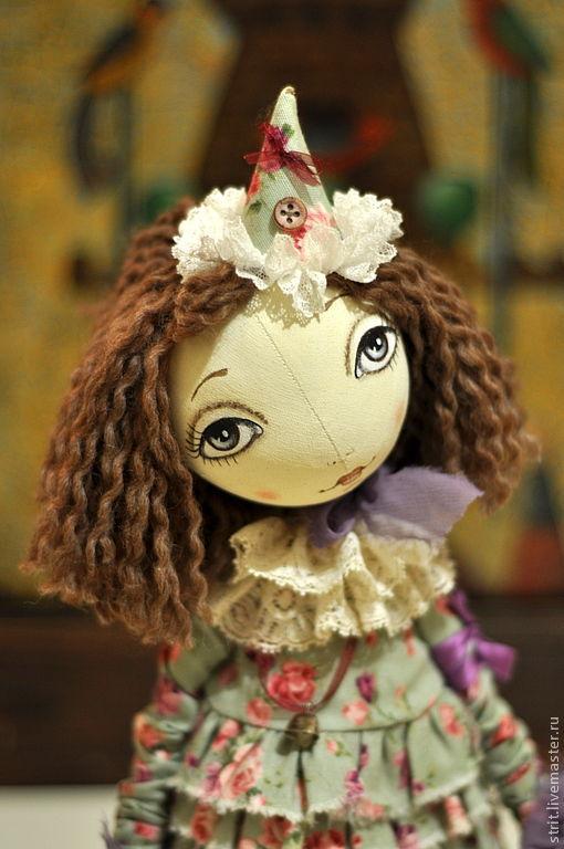 Куклы тыквоголовки ручной работы. Ярмарка Мастеров - ручная работа. Купить Сюзанна. Handmade. Мятный, кукла своими руками