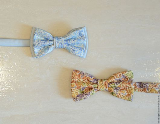"""Галстуки, бабочки ручной работы. Ярмарка Мастеров - ручная работа. Купить Бабочка-галстук """"Райские нити"""". Handmade. Комбинированный, костюм"""