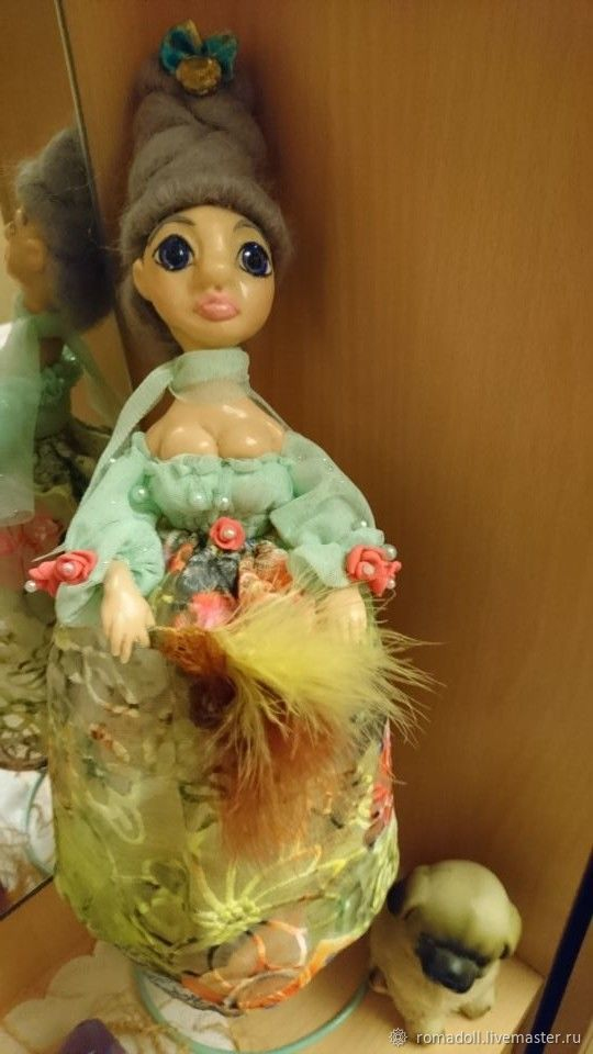 """Смешная кукла """"Фрэйлинка"""", Портретная кукла, Десногорск,  Фото №1"""