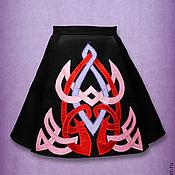 Одежда ручной работы. Ярмарка Мастеров - ручная работа Юбка колокол для ирландских танцев. Handmade.