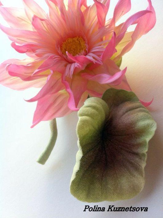 """Броши ручной работы. Ярмарка Мастеров - ручная работа. Купить Лотос """"Фабиано"""". Handmade. Цветы ручной работы, брошь-цветок"""