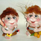 Куклы и игрушки ручной работы. Ярмарка Мастеров - ручная работа Домовята в мешочках. Handmade.