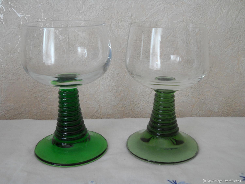 Винтаж: Стеклянные большие бокалы luminarc, Стаканы винтажные, Калининград,  Фото №1