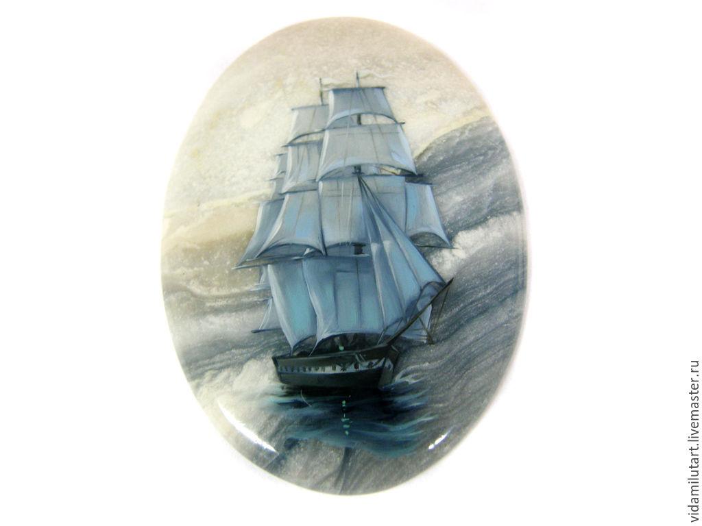 Рисунок корабли на камнях
