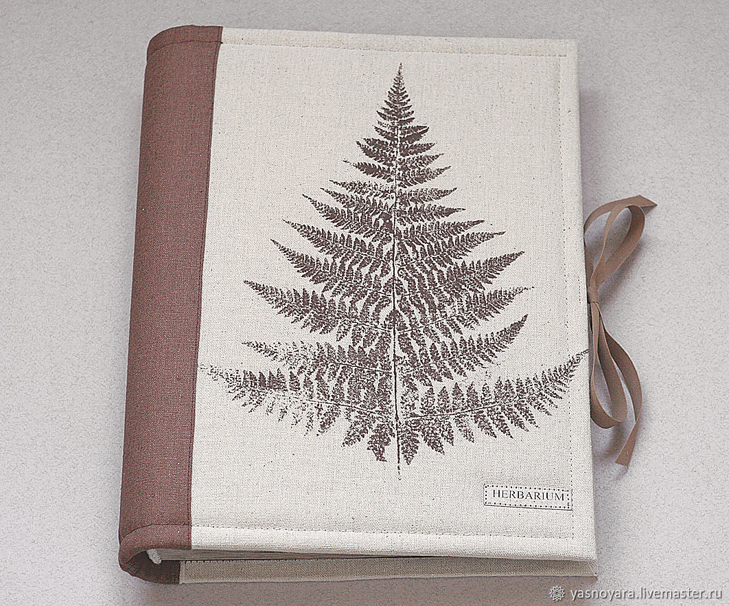 Album for a herbarium Sheet of the fern (A4, 30 Kraft sheets), Photo albums, Moscow,  Фото №1