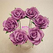 Украшения handmade. Livemaster - original item Headpin rose. Handmade.