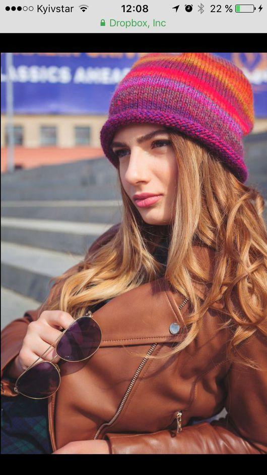 Шапки ручной работы. Ярмарка Мастеров - ручная работа. Купить Вязаная шапка. Handmade. Шапка, молодежный стиль, шапка женская