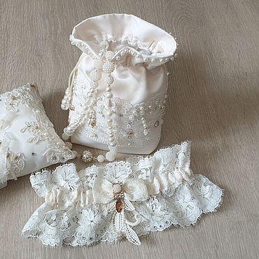 Свадебный салон ручной работы. Ярмарка Мастеров - ручная работа Аксессуары для невесты. Handmade.