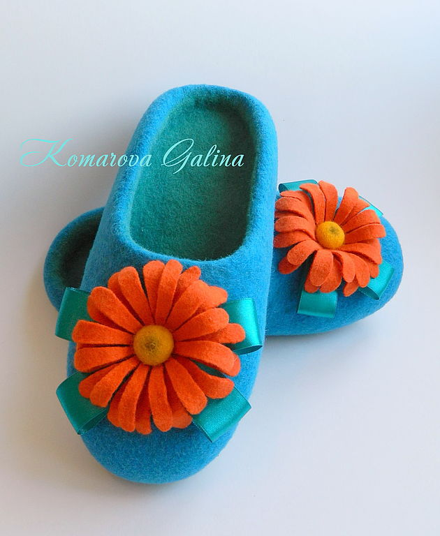 women's felted Slippers