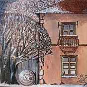 """Картины и панно ручной работы. Ярмарка Мастеров - ручная работа """"Знаки"""". Handmade."""