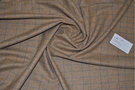 Шитье ручной работы. Ярмарка Мастеров - ручная работа. Купить Костюмная шерсть с кашемиром Loro Piana. Handmade. Костюмная ткань