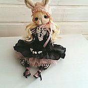 Куклы и игрушки ручной работы. Ярмарка Мастеров - ручная работа Зайка - девочка. Handmade.