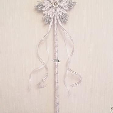 """Работы для детей, ручной работы. Ярмарка Мастеров - ручная работа Волшебная палочка """"Танец снежинок"""". Handmade."""