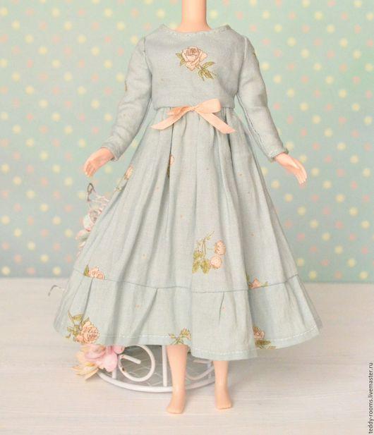 Одежда для кукол ручной работы. Ярмарка Мастеров - ручная работа. Купить Платье для блайз (Blythe). Handmade. Мятный, ooak, куклы