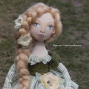 Куклы и игрушки ручной работы. Ярмарка Мастеров - ручная работа Аниела. Интерьерная текстильная коллекционная кукла.. Handmade.