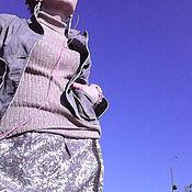 Одежда ручной работы. Ярмарка Мастеров - ручная работа костюм-тройка ЗОЛОТО ХАКИ. Handmade.
