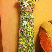 """Одежда ручной работы. Ярмарка Мастеров - ручная работа Платье """"Весенняя поляна"""". Handmade."""
