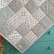 Работы для детей, ручной работы. Ярмарка Мастеров - ручная работа Аврора Одеяло лоскутное  Для новорожденного. Handmade.