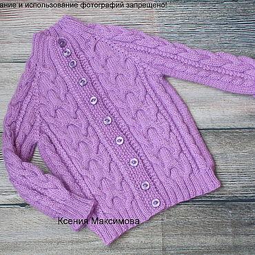 Clothing handmade. Livemaster - original item Jacket for girls Verona size 104. Handmade.