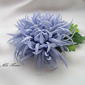 Украшения handmade. Livemaster - original item Brooch Chrysanthemum. Handmade.