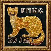 Подарки к праздникам handmade. Livemaster - original item Panels of amber