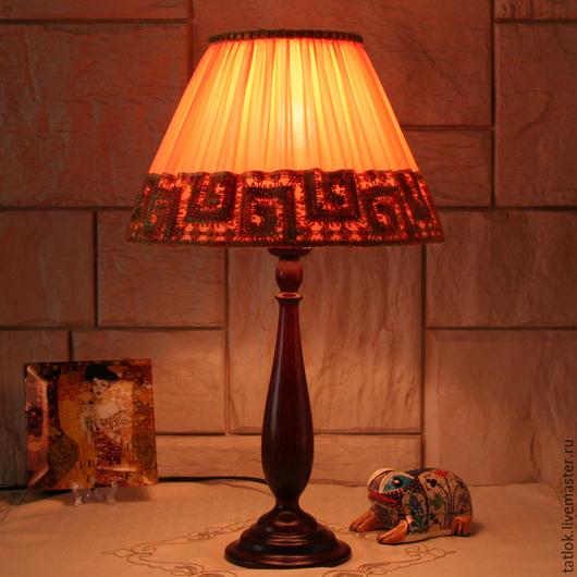 """Освещение ручной работы. Ярмарка Мастеров - ручная работа. Купить Настольная лампа """"Едем в Африку гулять"""". Handmade. Настольная лампа"""
