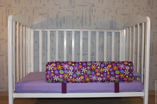 Детская ручной работы. Ярмарка Мастеров - ручная работа. Купить Защитный бортик для кроватки. Handmade. Комбинированный, фанера