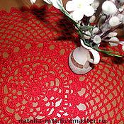 """Для дома и интерьера ручной работы. Ярмарка Мастеров - ручная работа Скатерть мини """"Red"""". Handmade."""