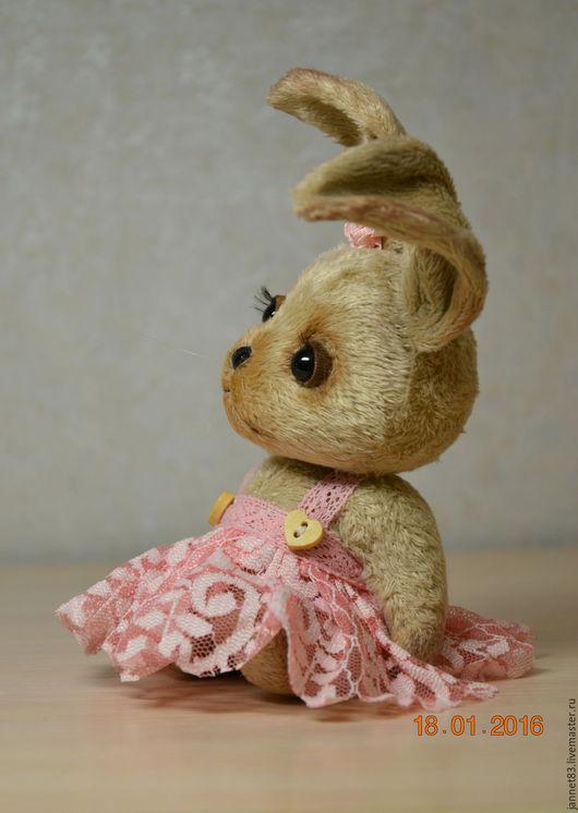 Мишки Тедди ручной работы. Ярмарка Мастеров - ручная работа. Купить Зайка. Handmade. Бежевый, игрушка ручной работы, синтепух