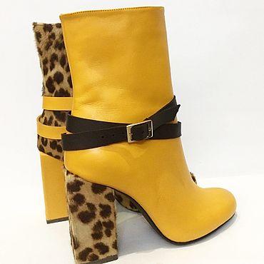 Обувь ручной работы. Ярмарка Мастеров - ручная работа Ботинки Микс (2). Handmade.