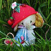 Куклы и игрушки ручной работы. Ярмарка Мастеров - ручная работа Ягодка ... ( 14 см ). Handmade.