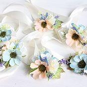 Свадебный салон ручной работы. Ярмарка Мастеров - ручная работа Браслеты на девичник для подружек невесты или на свадьбу. Handmade.