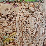"""Картины и панно ручной работы. Ярмарка Мастеров - ручная работа Картина """"Мир мечты"""". Handmade."""