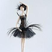 Тильда Зверята ручной работы. Ярмарка Мастеров - ручная работа Кукла интерьерная текстильная Тильда балерина. Handmade.