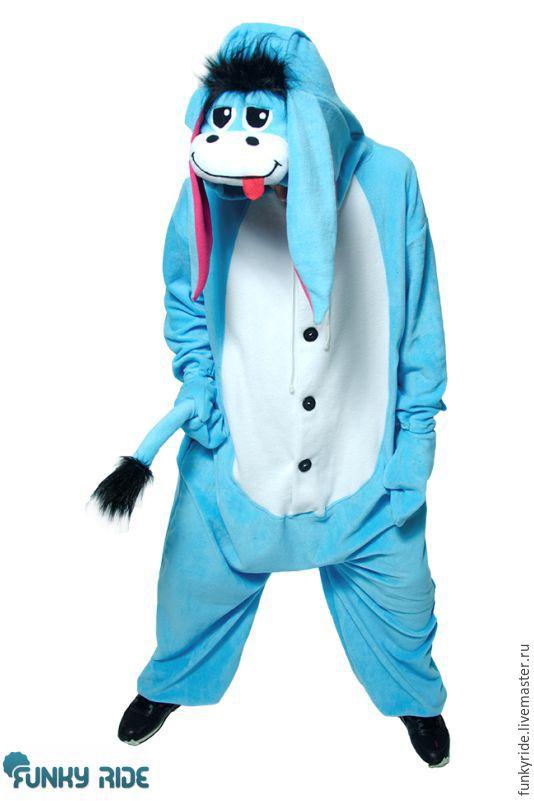 Costume kigurumi Eeyore EEYORE KIGU FUNKY, Suits, Magnitogorsk,  Фото №1