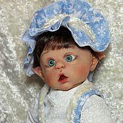"""Куклы и игрушки ручной работы. Ярмарка Мастеров - ручная работа Костюмчик на мини Офелию """"Снегурочка"""". Handmade."""