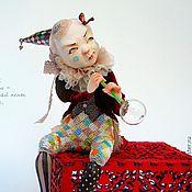 Куклы и игрушки ручной работы. Ярмарка Мастеров - ручная работа Арлекинка. Handmade.