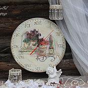 """Для дома и интерьера ручной работы. Ярмарка Мастеров - ручная работа Часы """"Время во французском стиле"""". Handmade."""