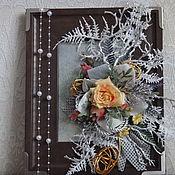 Картины и панно ручной работы. Ярмарка Мастеров - ручная работа За окном зима снегом все засыпала.... Handmade.